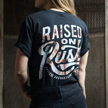Raised On Rust Tee