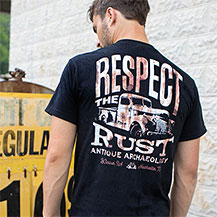 Respect The Rust Truck Pocket Tee