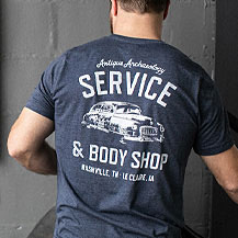 Denim Blue Service Tee