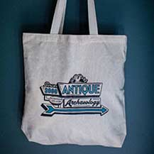 Neon Sign Canvas Tote Bag