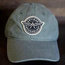 Airplane Logo Olive Hat