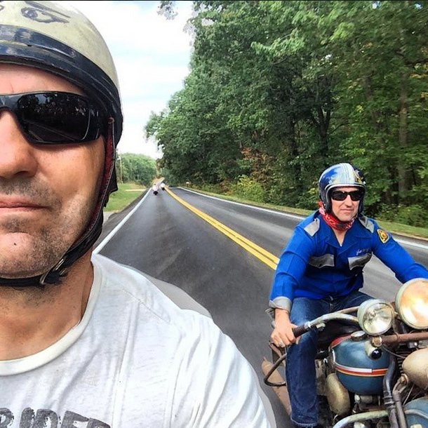 mike wolfe and robbie wolfe MS backroads