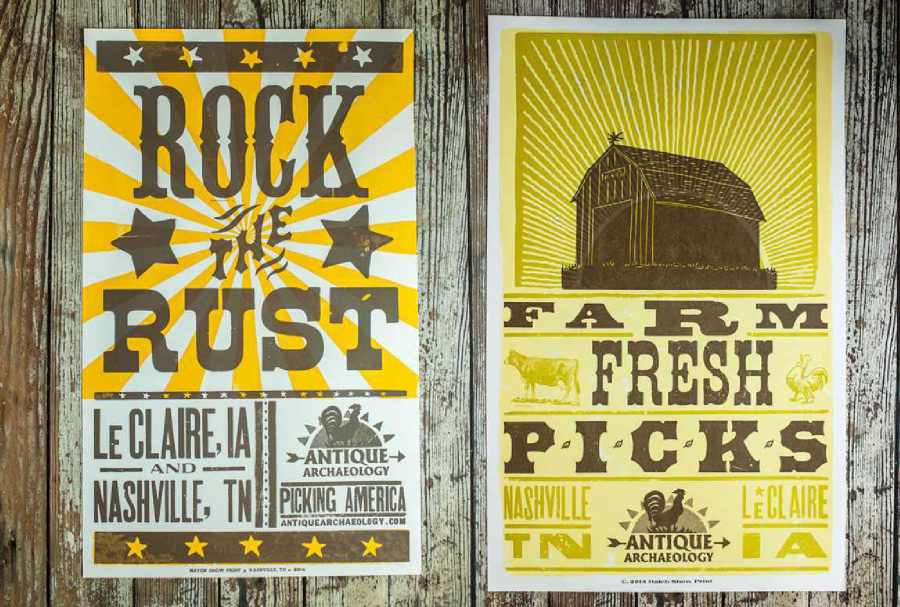 hatch show prints mike wolfe american pickers