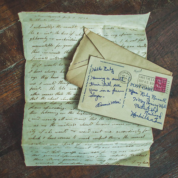 the lost art of letter writing essay