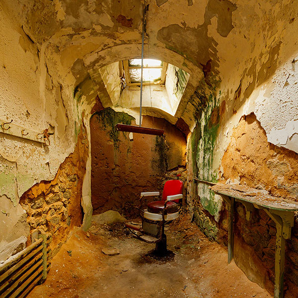 Haunted Places In Usa: Haunted America: Eastern State Penitentiary