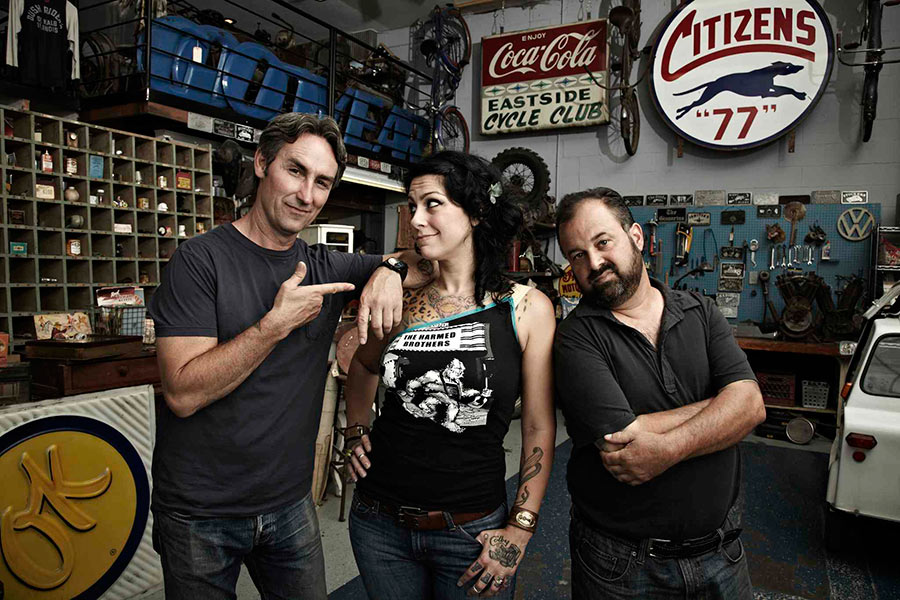 American Pickers Show On History Channel With Mike Wolfe
