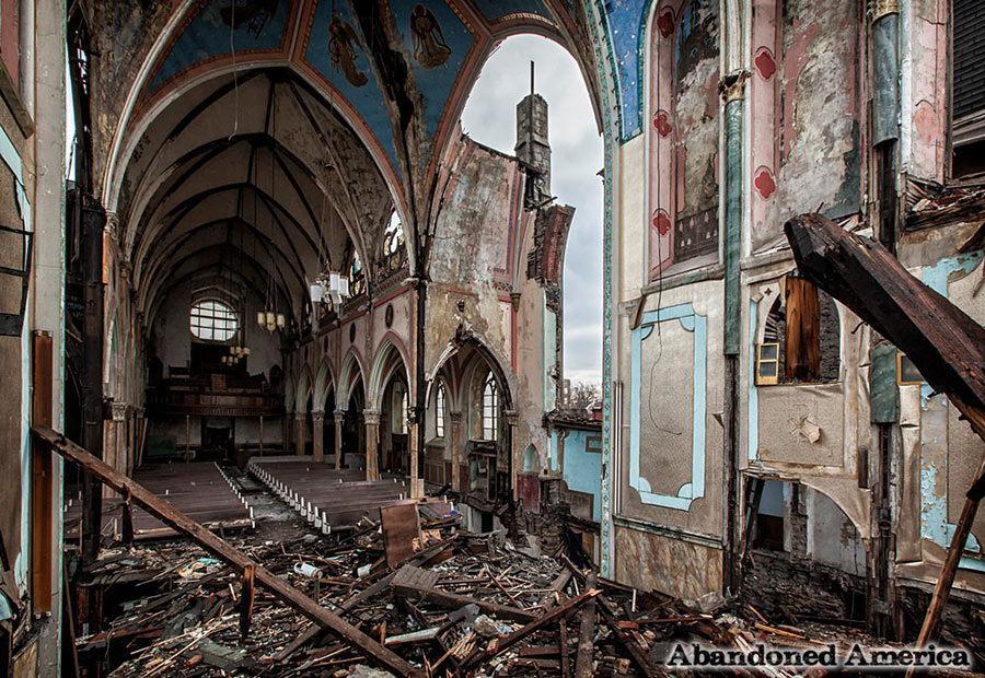 abandoned cathedral