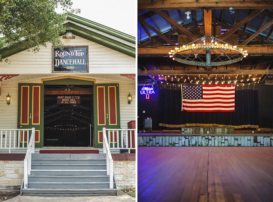 round top dance hall texas