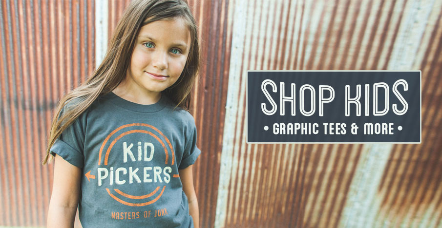 Shop Kids Graphic Tees and More