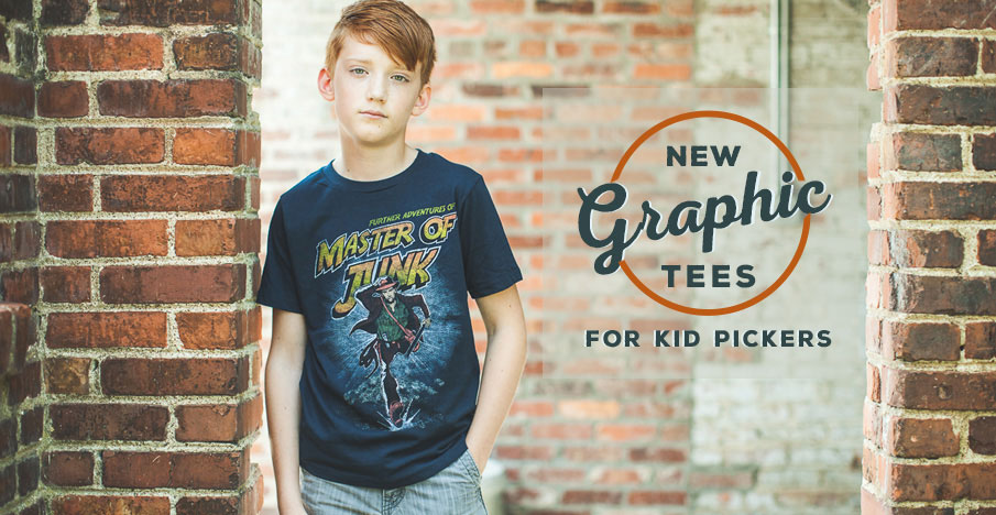 New Graphic Tees for Kid Pickers Tees