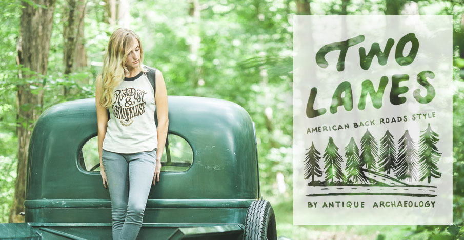 Two Lanes Collection Apparel - American Back Roads Style